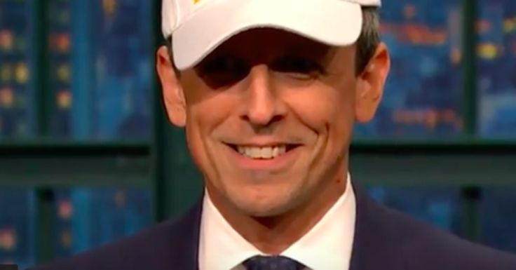 Seth Meyers Has A Not-So-Subtle Message For Donald Trump   HuffPost. Resign, Donald.