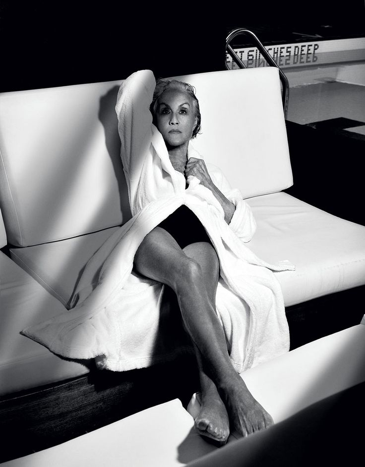 Polly Mellen - Photographed by Steven Meisel