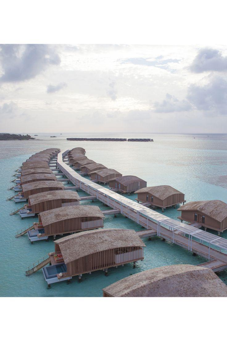 VOYAGE - Club Med. Le premier resort 100% solaire aux Maldives.