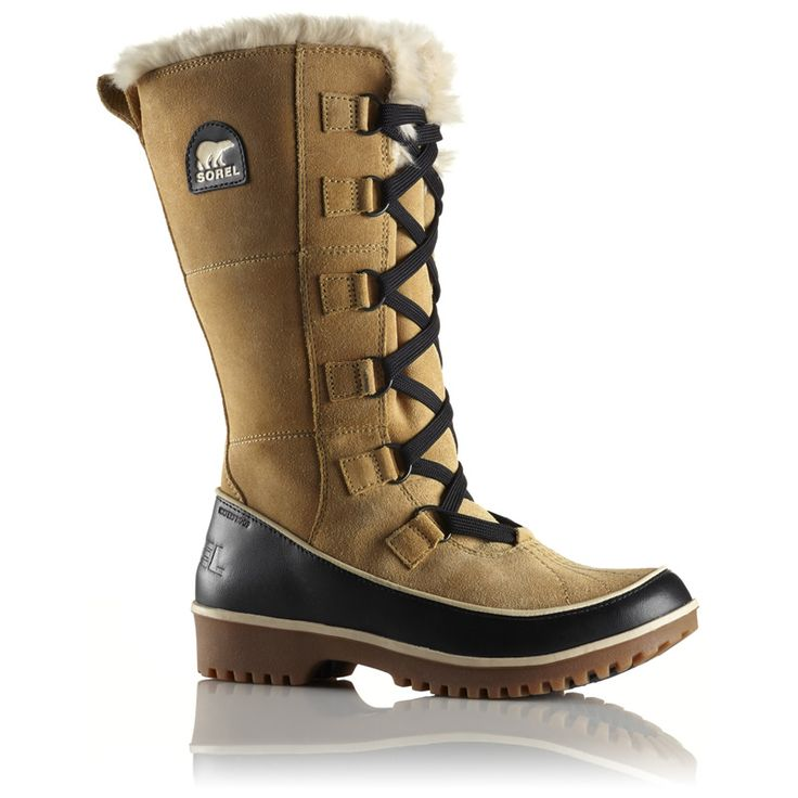 The Sorel Tivoli High II Boots feature an all over waterproof suede leather  upper with a