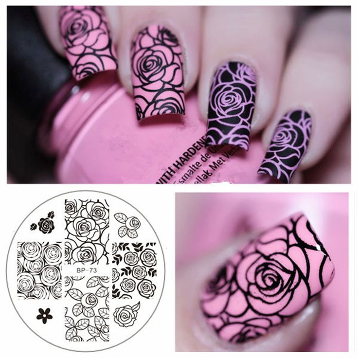 Best 25 stamping plates ideas on pinterest nail art stamping rose flower nail art stamping template image plate born pretty bp 73 nail stamping plates solutioingenieria Image collections