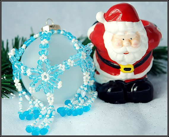 Free Beaded Christmas Ornament Patterns