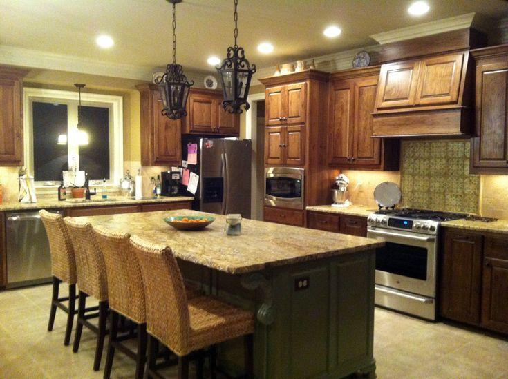 Yellow granite countertops yellow river granite kitchen for Kitchen ideas with yellow countertops