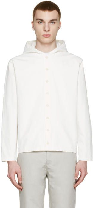 Sunnei Off-White Button Up Jacket