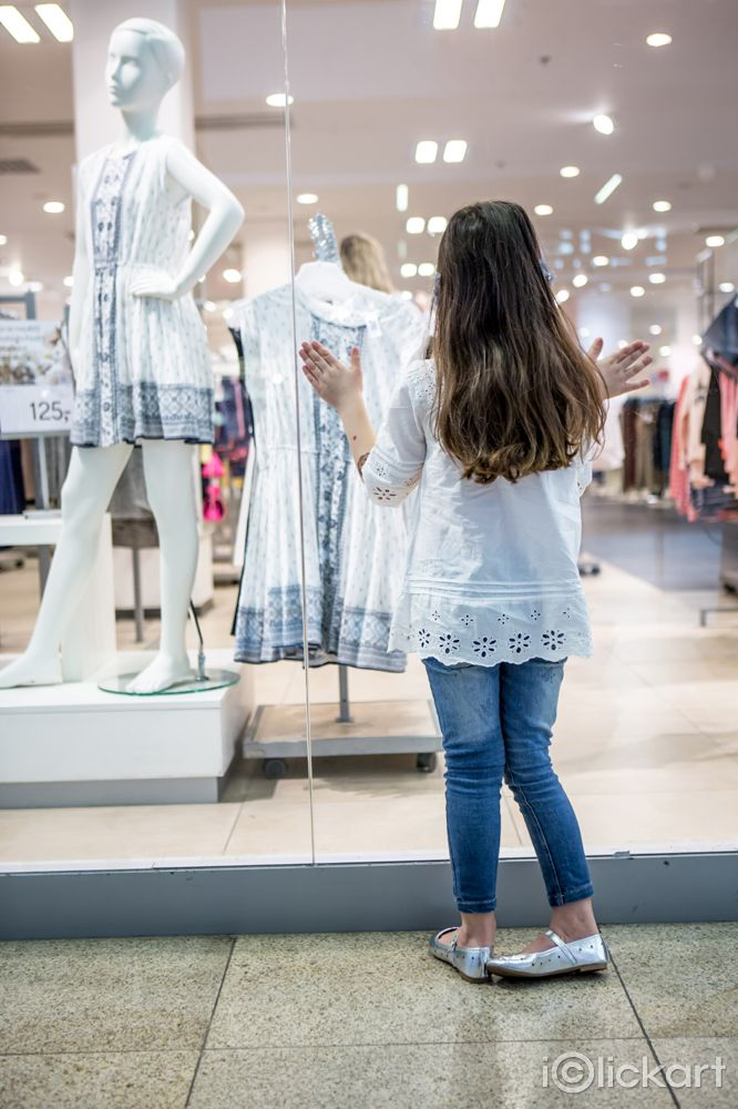 #girl #lady #shopping #show window  #mall #cloth #looking #npine #iclickart #stockphoto #Click_your_heart