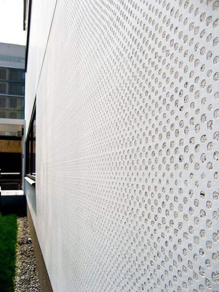 Pattern: Round Rough. Attunda Tingsrätt, Courthouse, Sweden 2010. Architecture by Svante Forsström Arkitekter AB.