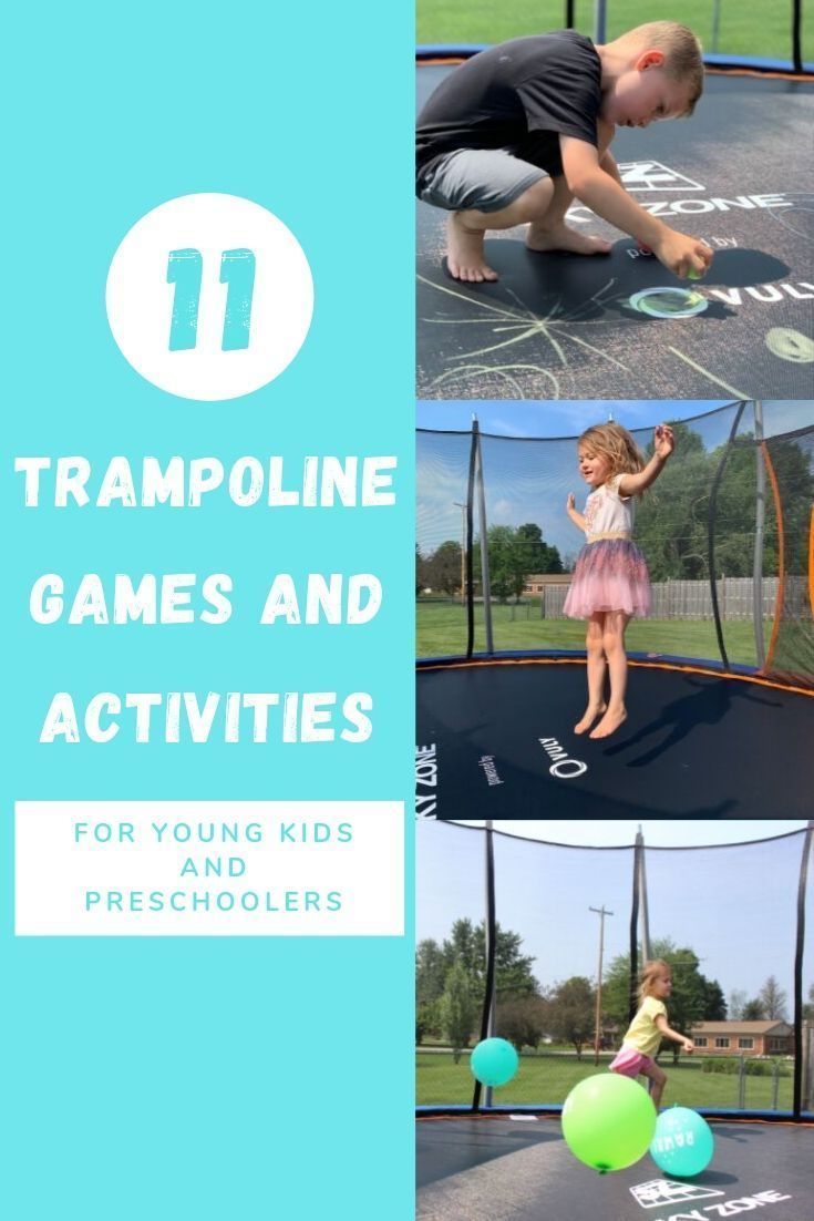 11 Fun Trampolines And Activities For Young Children Trampolines Are Great For Burning That Extra Energy Im Trampoline Games Fun Trampoline Games Trampoline