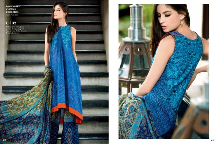 PREMIUM EMBROIDERED CHIFFON COLLECTION 100% SILK COLLECTION