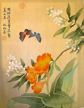 Chinese Painting on Silk
