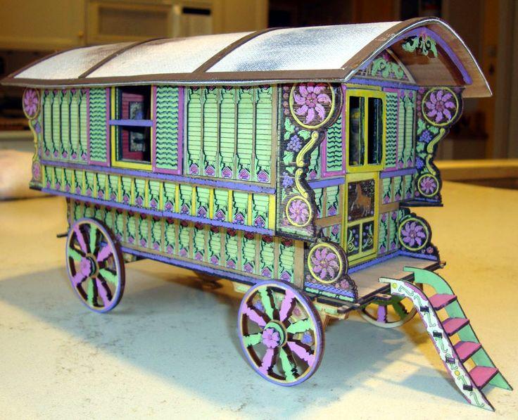 Kelayres Gypsy Wagon One Inch Scale