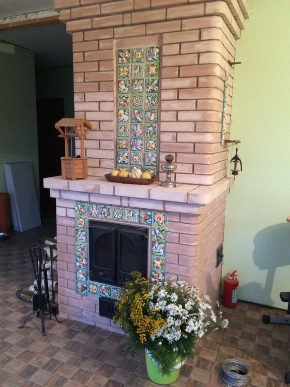 ЯрИзразец - Студия керамики - производство и продажа ярославских изразцов, купить изразцы, изразцовая плитка для камина и фасадов