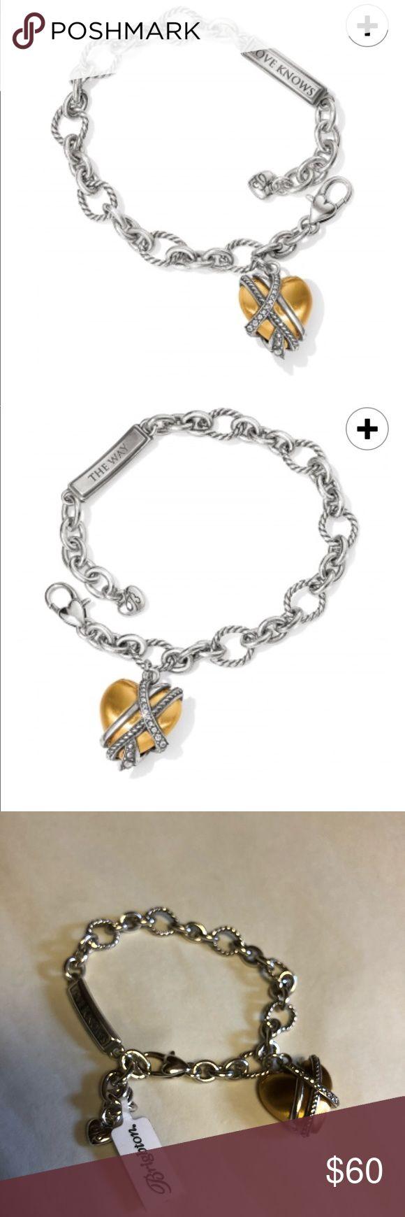 Brighton Neptune rings heart bracelet new Gorgeous! New Brighton, new with tags Brighton Jewelry Bracelets