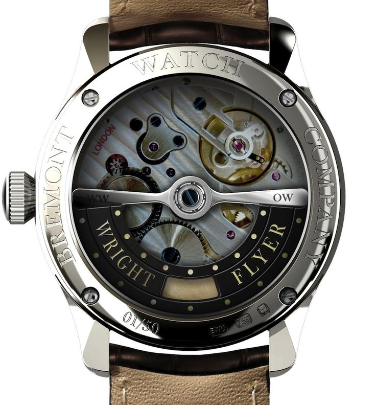 The Real Story Behind The Bremont Wright Flyer In House Made BWC/01 London Watch Movement   watch releases
