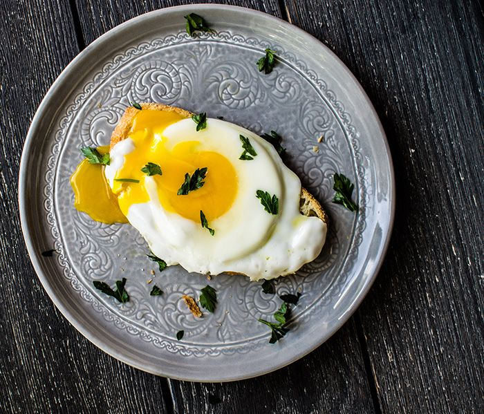 Market Street - Breakfast How To: Runny Egg