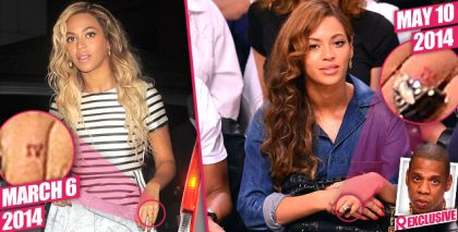 Trouble In Paradise? Beyonce Having Ring Finger Tattoo Removed, Jay Z Tells Pals: 'Nothing Lasts Forever' | Radar Online