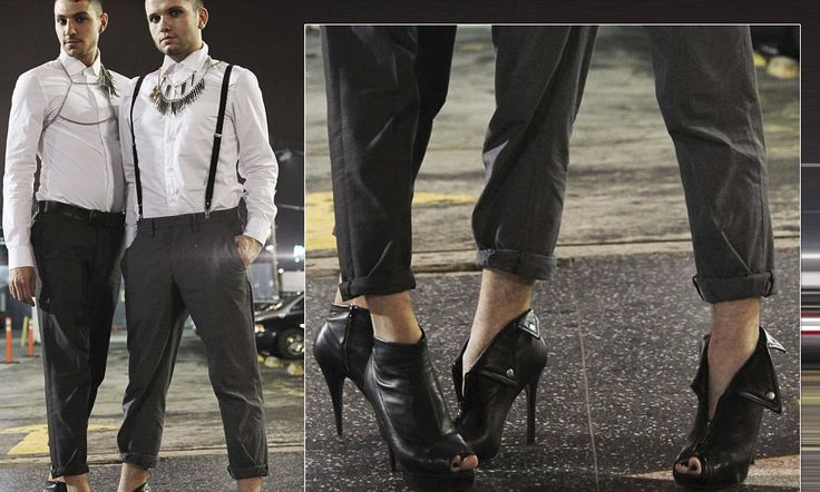 A tall order for even the most fashionable of gentlemen: High heels for men are on the rise #DailyMail