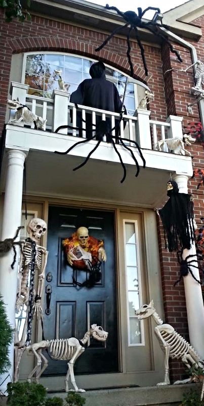 photo credit penny donahue grandin road spooky dcor challenge 2015 pirate halloweenhalloween - Pirate Halloween Decorations