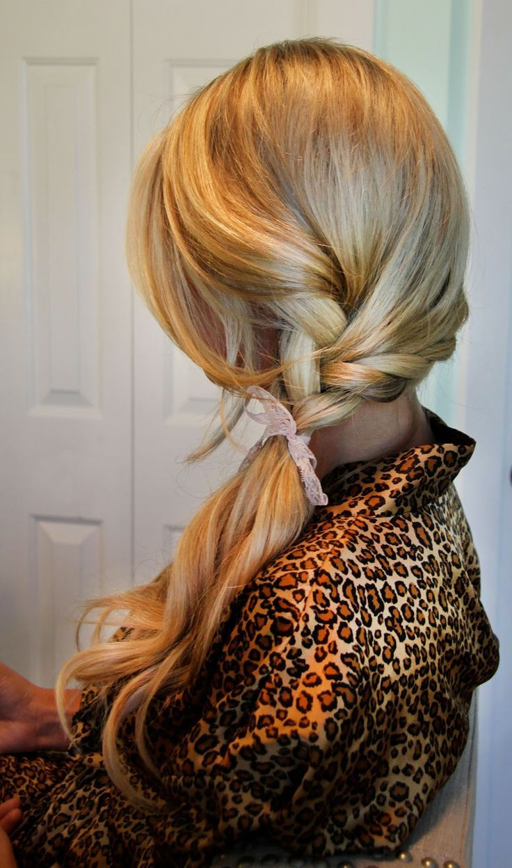 Admirable Hairstyles With Ribbons Pinterest Picture Ideas With Learn Party Hairstyles For Women Draintrainus