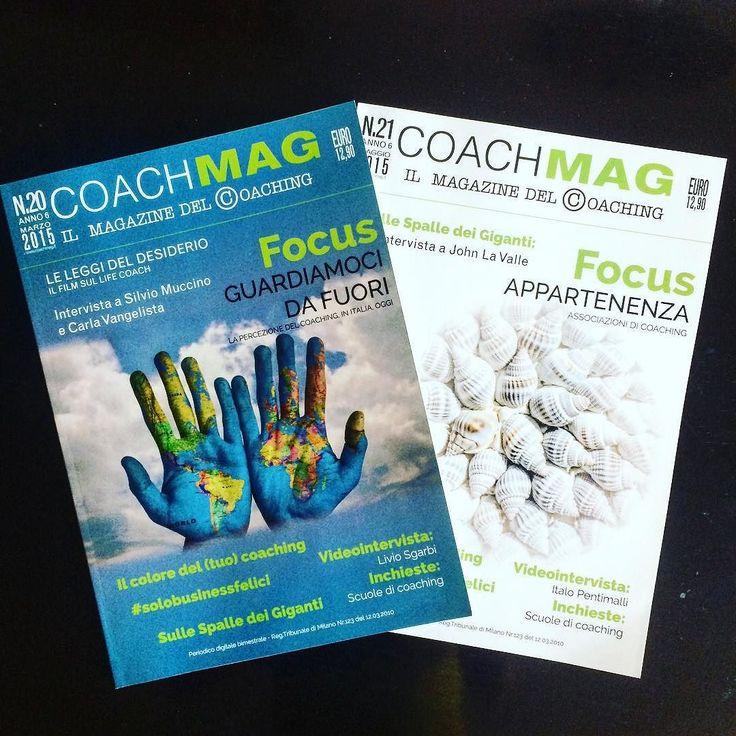 Vi sono piaciuti così tanto che anche questi due numeri di #coachmag vanno in ristampa... Grazie!!!  #coaching #coach #ristampa #veryproud #magazine #instacoaching #natasciapane