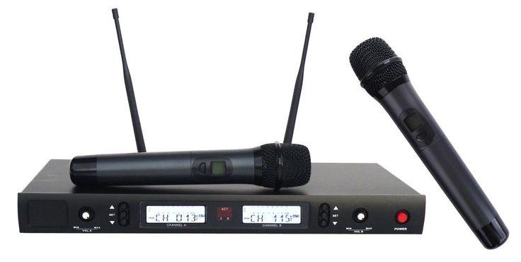 Radiomicrofono doppio UHF professionale EX DEMO