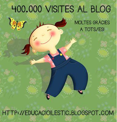400.000 visites al blog Educació i les TIC
