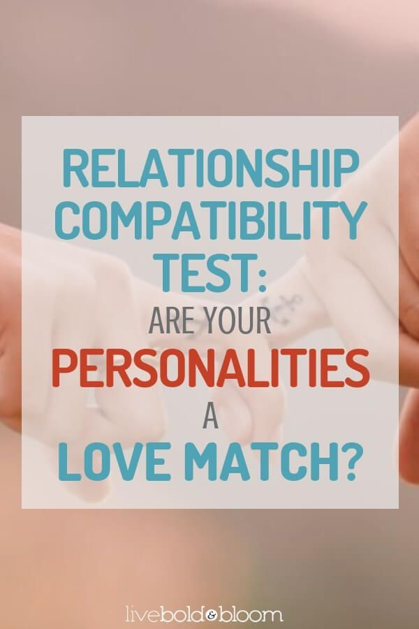 Relationship Compatibility Test: Are Your Personalities A