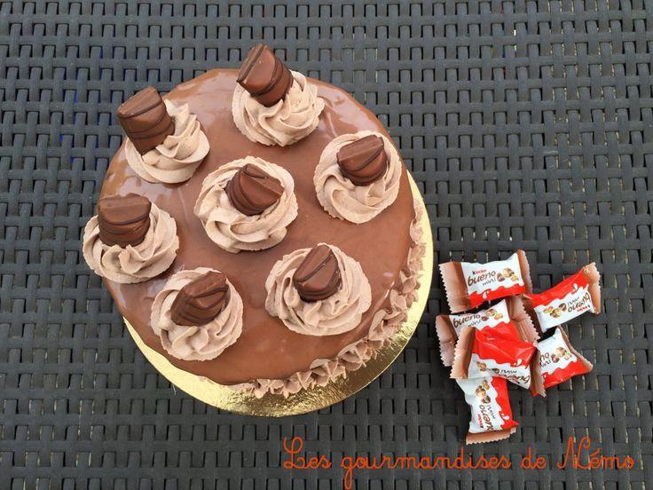 Célèbre Les 25 meilleures idées de la catégorie Gâteau au chocolat kinder  YK76