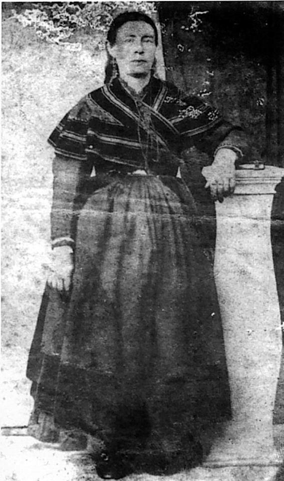 o dengue e dos do tipo Betanceiro,  polo tipo de dengue, a foto pode ser dunha muller de Pontevedra.