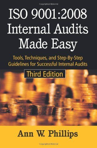 20 best audit images on pinterest internal audit accounting and iso internal audits made easy tools techniques and step by step guidelines for successful internal audits third edition a book by anne w fandeluxe Images