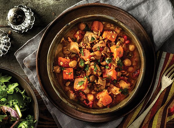 African Chicken and Sweet Potato Stew from Publix Aprons