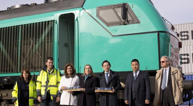 First direct China-Madrid freight train arrives after epic 13,000km journey