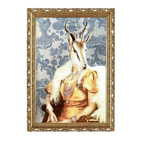 Studio Lisa Bengtsson - Queen Of The Savannah Print - 50x70cm