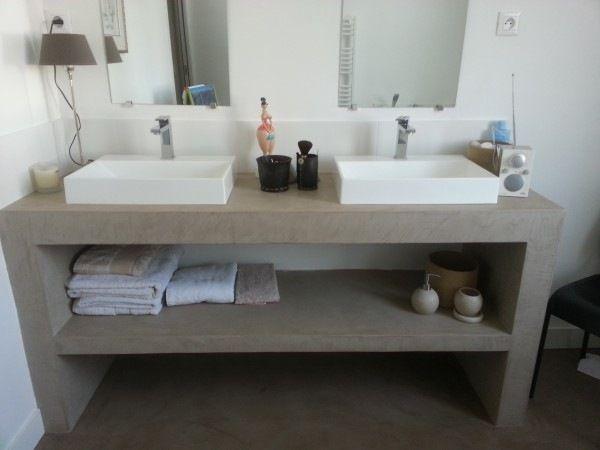 Resultat De Recherche D Images Pour Fabriquer Un Meuble Salle De Bain En Placo Agencement Salle De Bain Meuble Salle De Bain Placo Salle De Bain