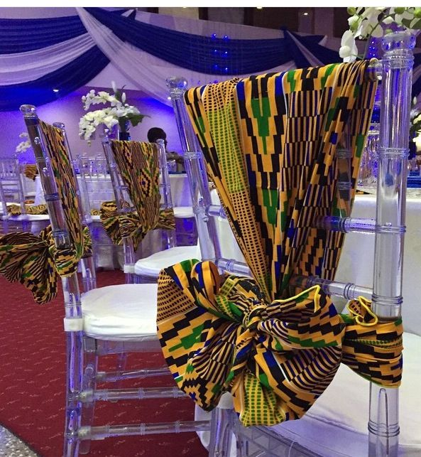 Joli kente mariage add more african print to your for African party decoration ideas