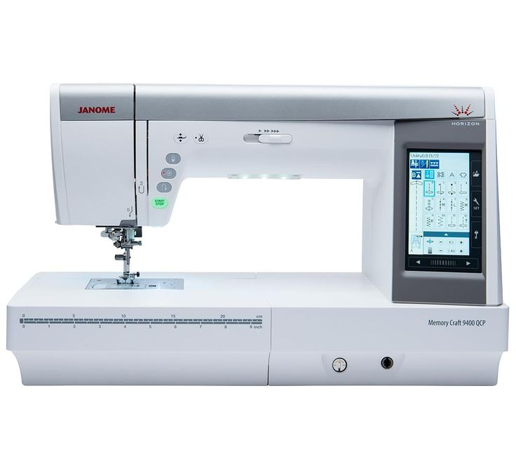 We are excited about the launch of our new sewing and quilting machine, the Horizon Memory Craft 9400! Head over to Janome.com/9400 to discover what you can do with this machine!