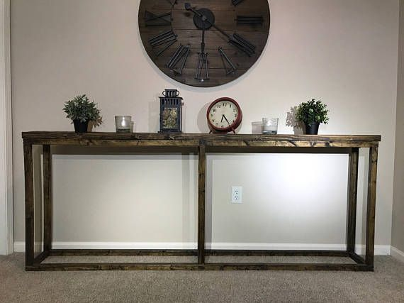 Rustic Entryway / Sofa / Behind the Couch / Console / Hallway / Foyer Table