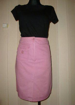 #spodniczka #dokolan #olowkowaspodniczka #dopasowanaspodniczka #wrzos #fiolet #kieszenie #rozmiar36 #wyprzedazszafy #sprzedam #wymienie