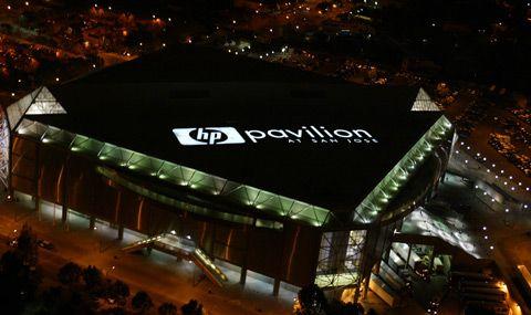 HP Pavillion at San Jose