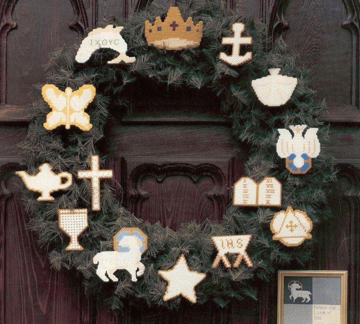 Chrismons and Christian Symbols