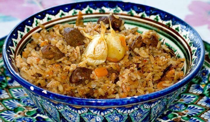 Как приготовить плов, рецепт узбекского плова