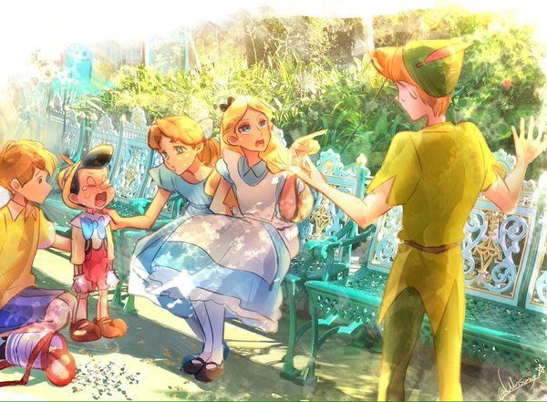 Disney. It's nice that this isn't about the princesses. This is about the kids. So cool.