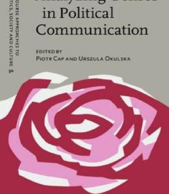 Analyzing Genres In Political Communication: Theory And Practice PDF