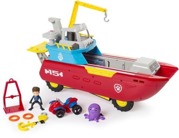 Paw Patrol Sea Patrol – Sea Patroller Transforming Vehicle
