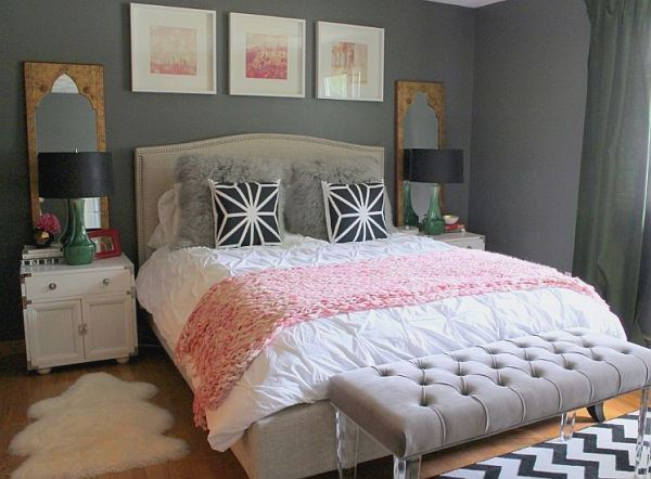 Female young adult bedroom ideas how to decorate a young for Small neutral bedroom ideas