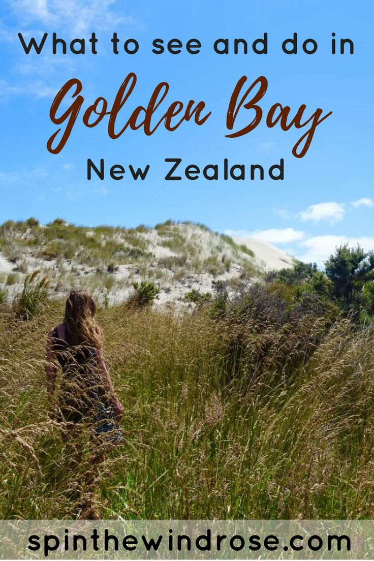What to see and do in Golden Bay, New Zealand - http://spinthewindrose.com || The…