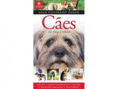 Cães - Guia Ilustrado - Zahar com as melhores condições você encontra no Magazine Ciabella. Confira!