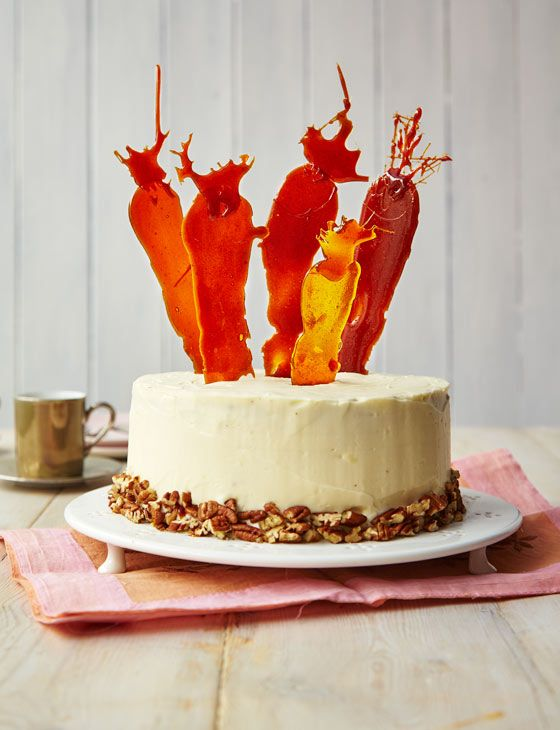 The ultimate carrot cake. Impress your friends and family this Easter with this brilliant cake.