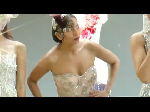 Big Boobs Models At Falguni​ & Shane​ Peacock bridal collection | Sunny ...