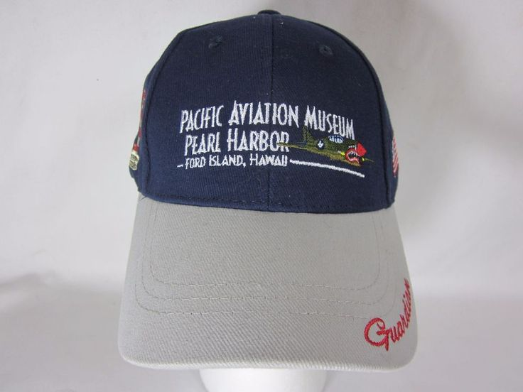 Pacific Aviation Museum Pearl Harbor HI Ford Island Adjustable Baseball Hat #Unbranded #BaseballCap