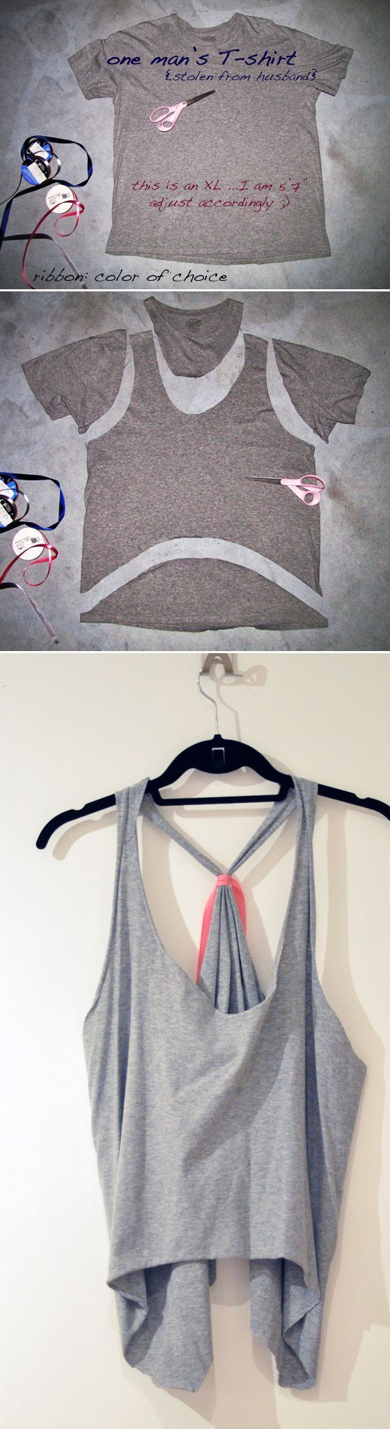 31 T-Shirt DIYs That Are Perfect For Summer - BuzzFeed Mobile